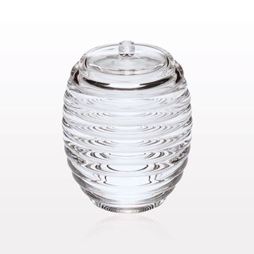Spiral Container with Lid, Clear