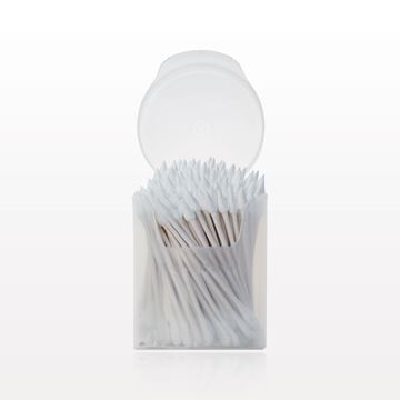 Point/Flat Oval Tip Swab, in Cylinder Container