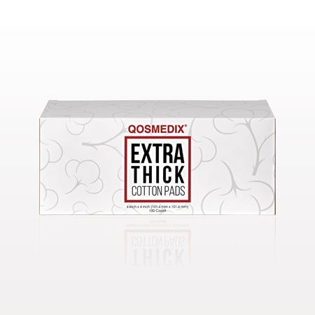 Qosmedix® Extra Thick Cotton Pads