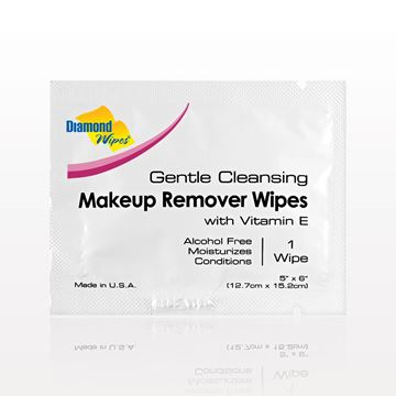 Diamond Wipes® Gentle Cleansing Makeup Remover Wipes