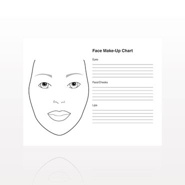 Picture for category Face Make-up Charts