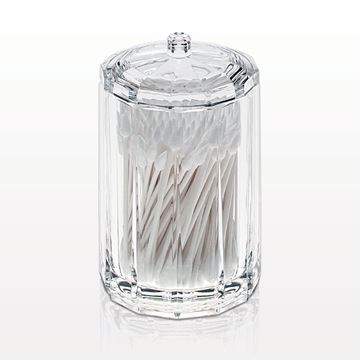 Round Container with Lid, Clear