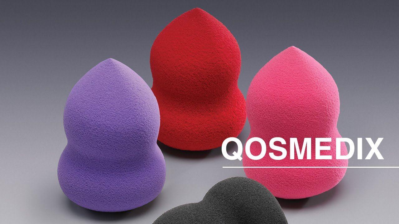 Qosmedix Oblong Blending Sponges