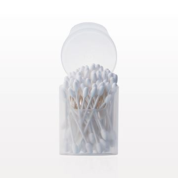 Large Round Tip Swab, in Cylinder Container