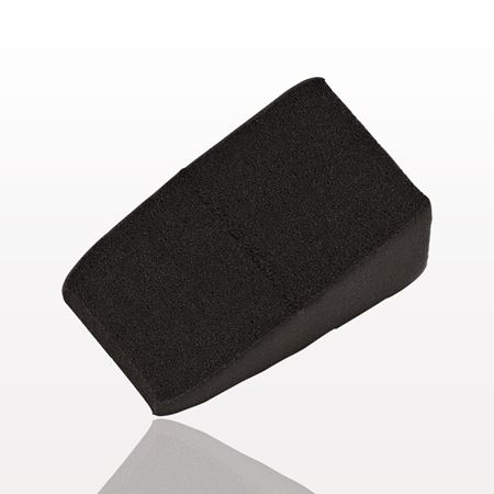 Loose Triangular Wedge Sponge, Black