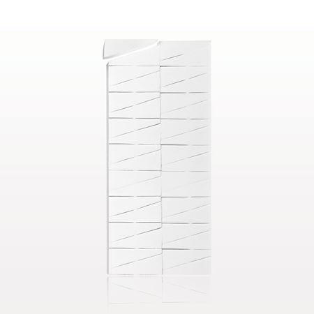 36-Piece Sponge Block, White