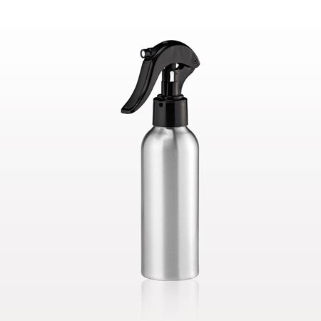 Aluminum Bottle with Ergonomic Black Trigger Sprayer
