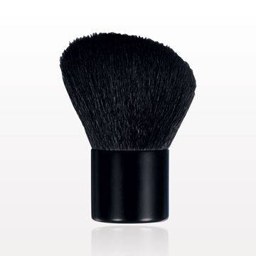 Angled Kabuki Brush with Matte Black Handle