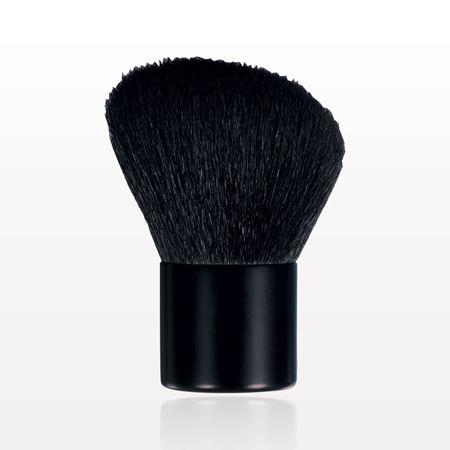 Angled Kabuki Brush with Matte Black Handle