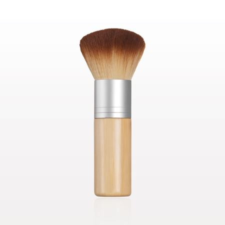 Two Tone Kabuki Brush with Long Handle
