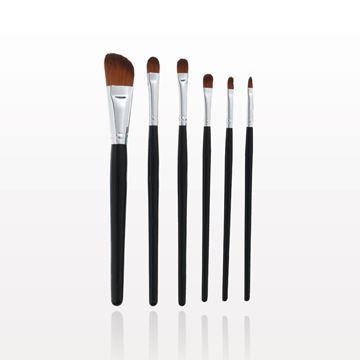 6-Piece Black Brush Set