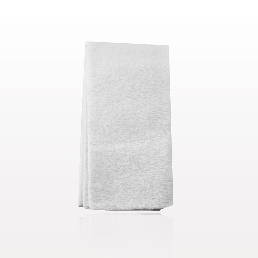 Gym Towel Racks: Qosmedix. Gym/Spa Towel, White