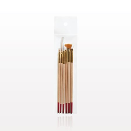 6-Piece Professional Nail Brush Set