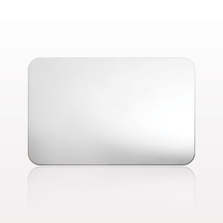 Rectangular Mixing Palette with Mirror Finish