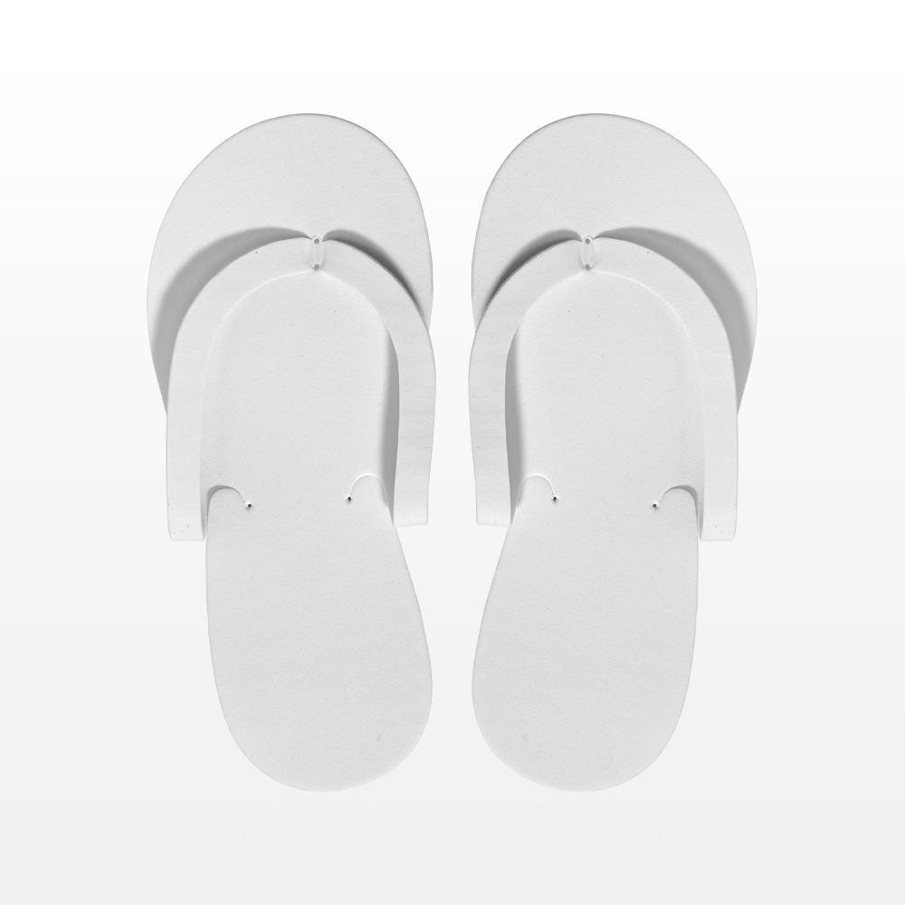 Non-Skid Pedicure Thong Sandals, White