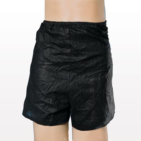 Men's Disposable Boxers, Black