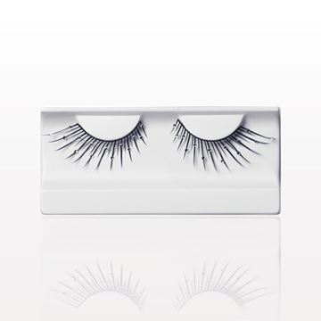 False Eyelashes with Rhinestones, Black