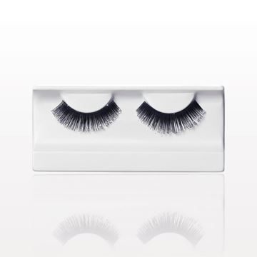 False Eyelashes with Glitter, Black