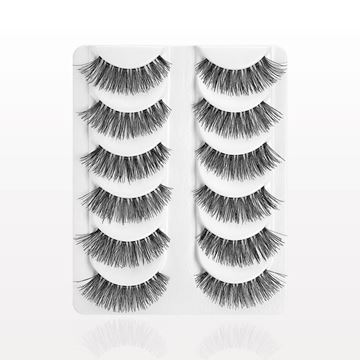 Demi False Eyelashes, Black, Value Set