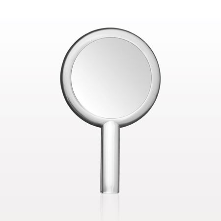 Dual Sided Hand Held Mirror, Clear