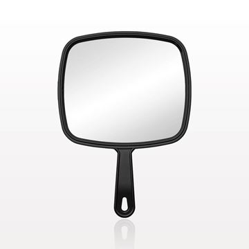 Hand Held Mirror, Black