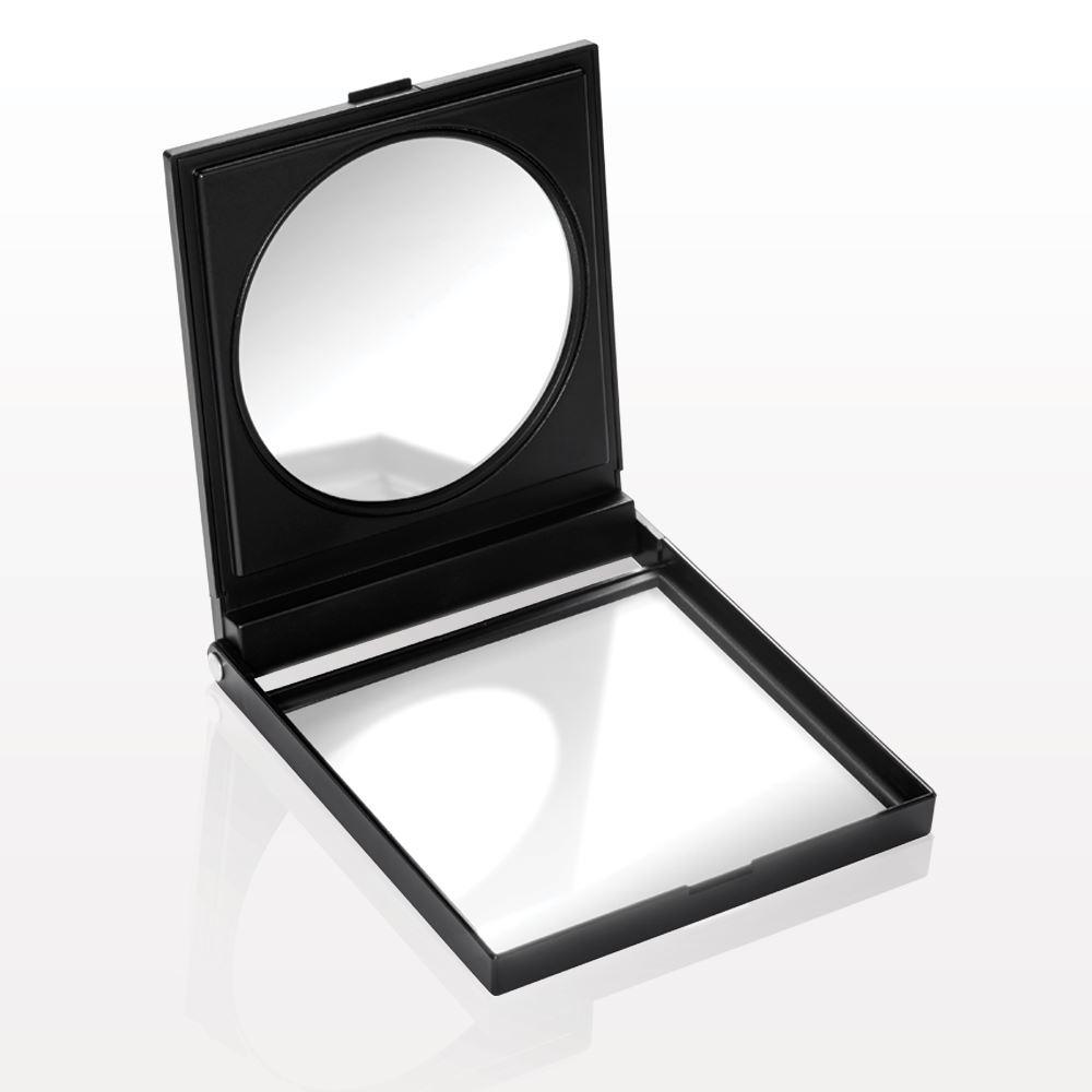 Qosmedix Large Self Standing Double Mirrored Compact