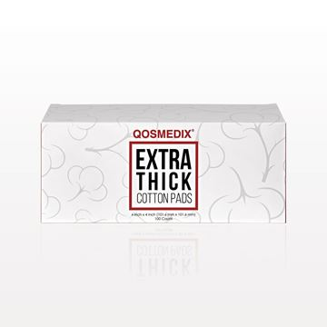 Qosmedix® Extra Thick Cotton Pads