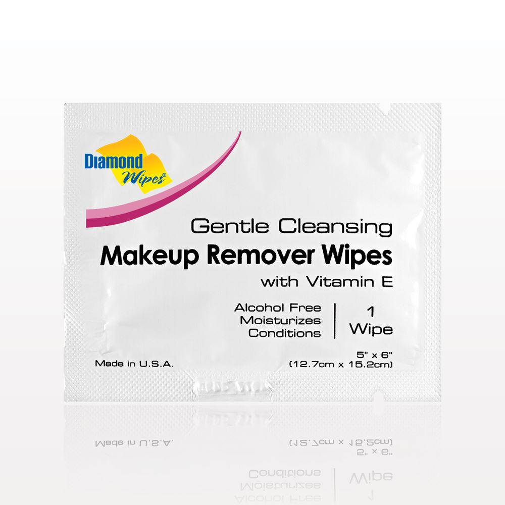 Diamond Wipes Gentle Cleansing Makeup Remover Wipes