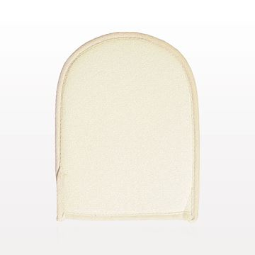 Dual Sided Gentle Exfoliating Bath Mitt, Natural