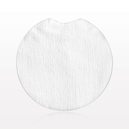 Round Absorbent Pad with Finger Notch