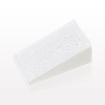 Loose Triangular Wedge Sponge, White