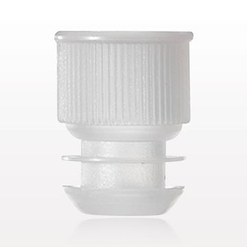 Test Tube Plug, Clear; fits 13 mm Tubes