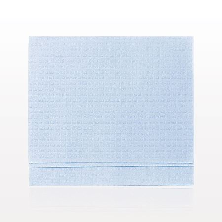 3 Ply Folded Towel, Blue
