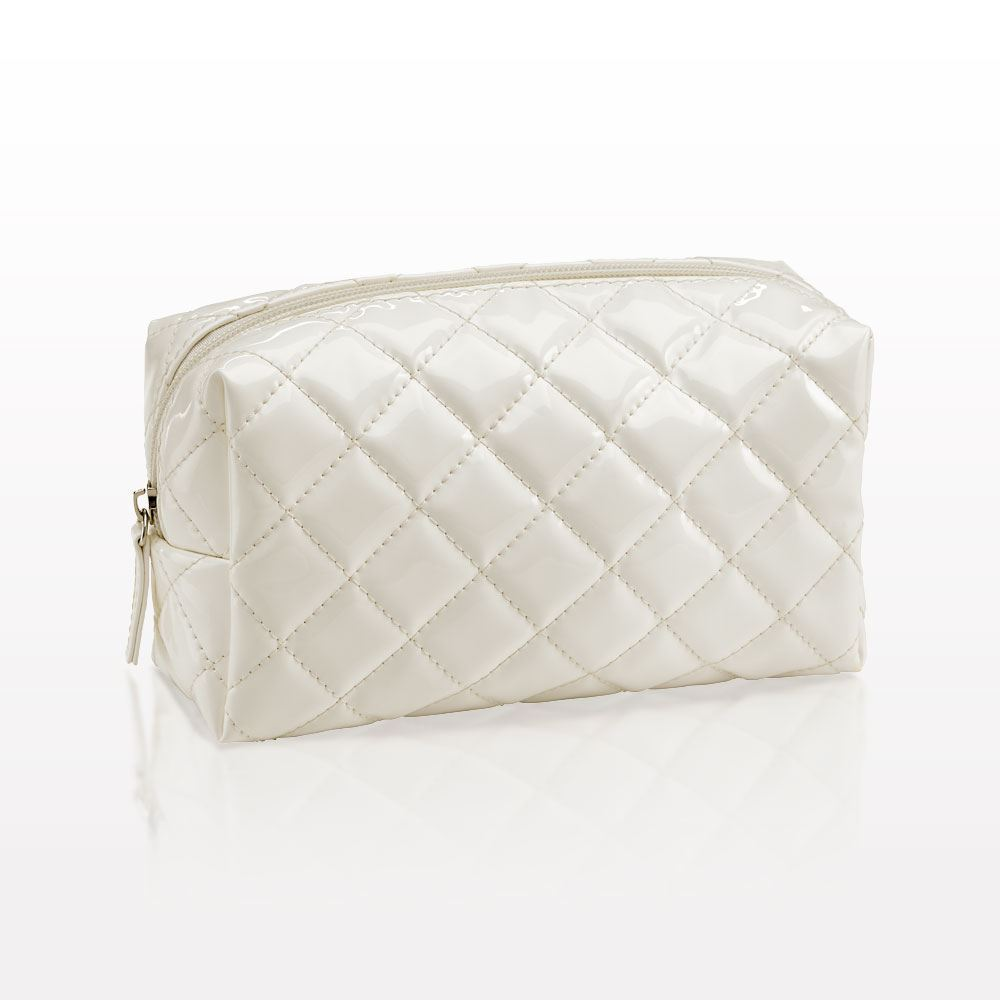 Qosmedix.  The Quilted  Small Cosmetic Bag : quilted cosmetic bags - Adamdwight.com