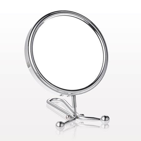 Dual Sided Convertible Counter/Hand Held Mirror