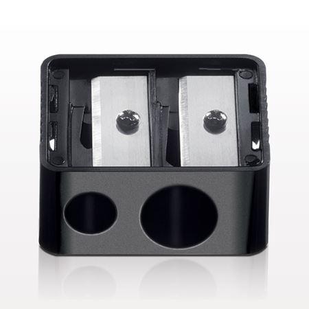Side by Side Dual Sharpener, Black
