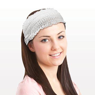 Disposable Stretch Ruffled Headband