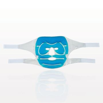 Gel Face Mask, Blue