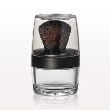 Picture of Kabuki Brush Jar, Sifter & Mirrored Cap