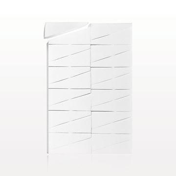 24-Piece Wedge Sponge Block, White