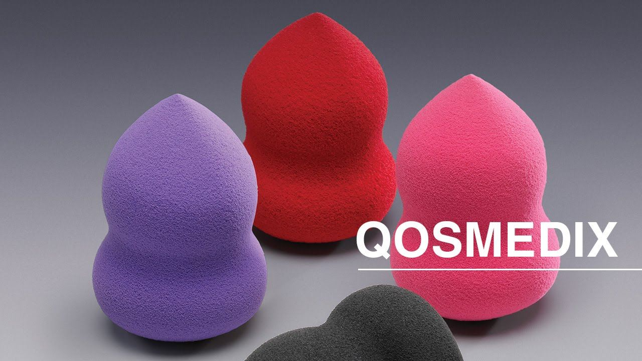 Qosmedix Oblong Blending Sponges