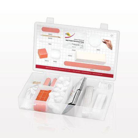 Qosmedix® Deluxe Nail Supply Kit