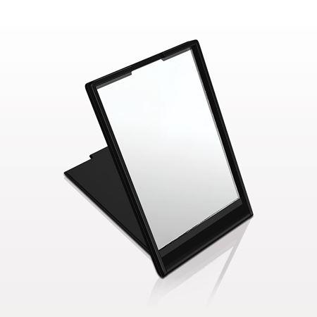 Picture of Self-Standing Rectangular Mirror, Black