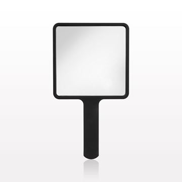 Picture of Small Hand Held Mirror, Matte Black