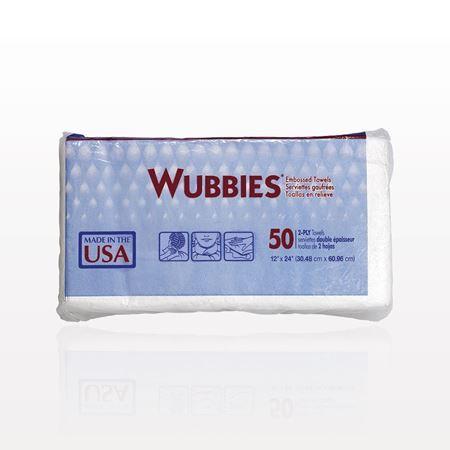 Graham Beauty® Wubbies® Embossed Towels