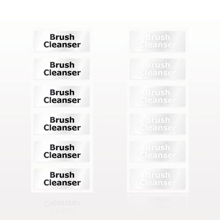 Picture of Brush Cleanser Label