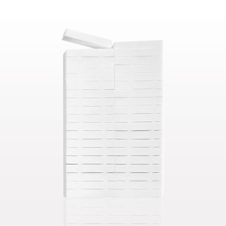 Picture of 40-Piece Rectangular Sponge Block, White