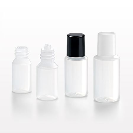 Picture of Dramming Bottle, Reducer and Screw Cap