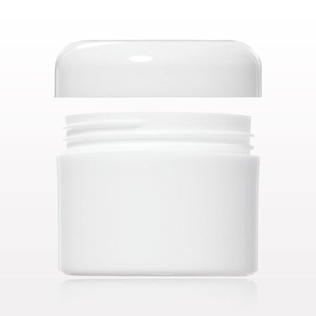 Picture of 15 gram White Jar and Cap