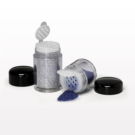 Picture of Jar and Flip Top Sifter with Threaded Cap